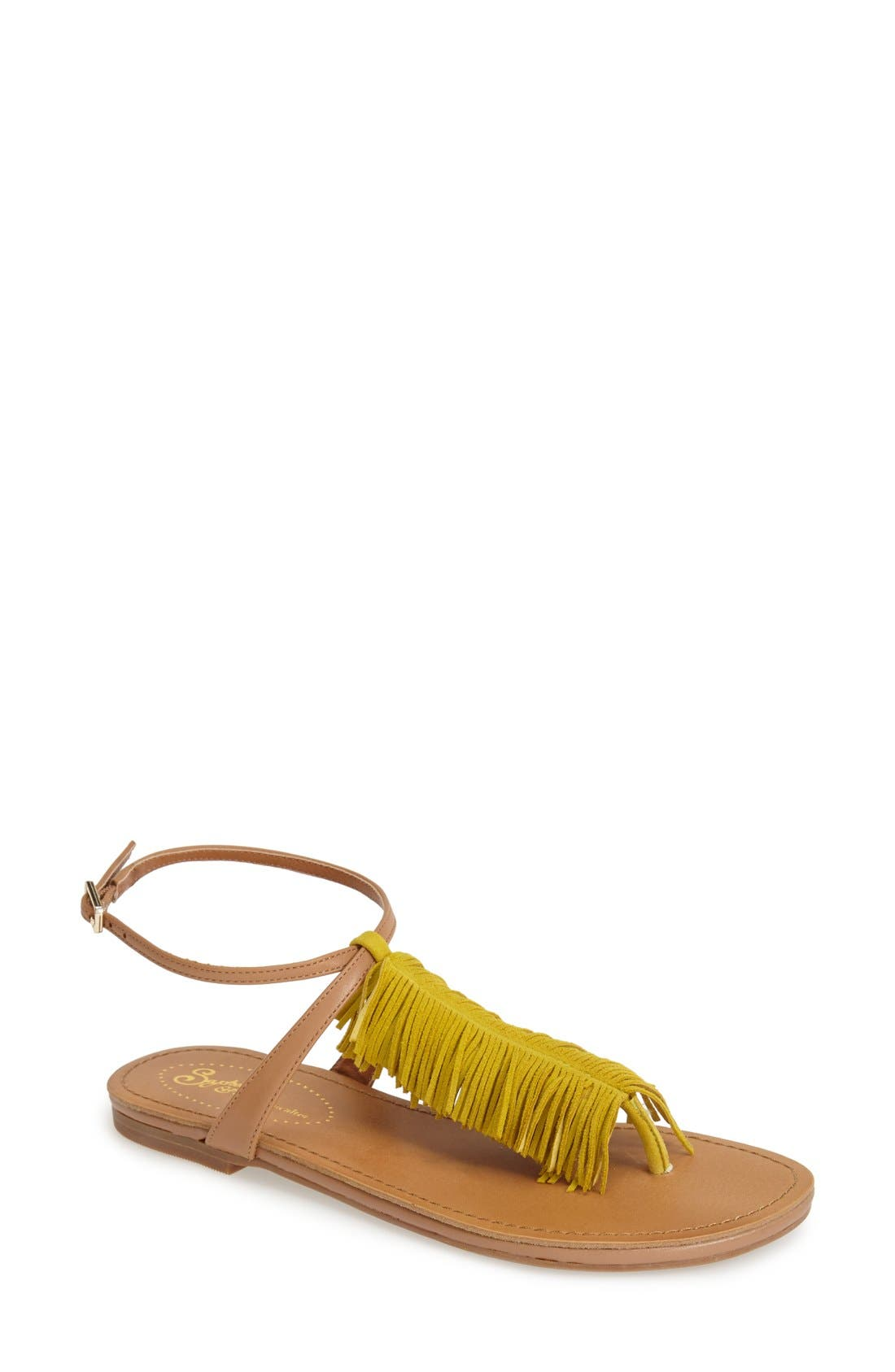 Alternate Image 1 Selected - Seychelles 'Confetti' Ankle Strap Sandal (Women)