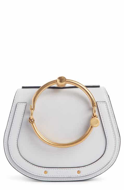 00d1ce8463 Chloé Small Nile Bracelet Leather Crossbody Bag