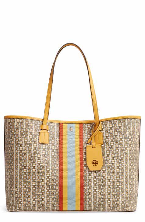 Tory Burch Gemini Link Coated Canvas Tote 906f74630e23e