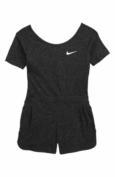 b780b0cea565 Nike Short Knit Romper (Big Girls)
