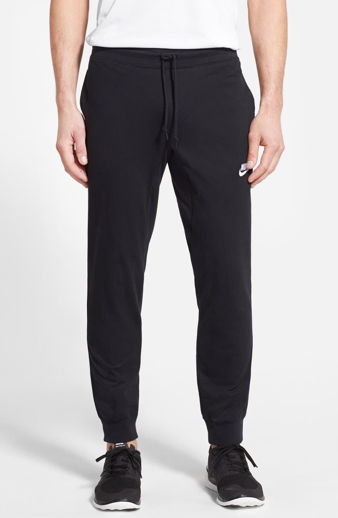 Main Image - Nike 'AW77' Cuffed Fleece Sweatpants