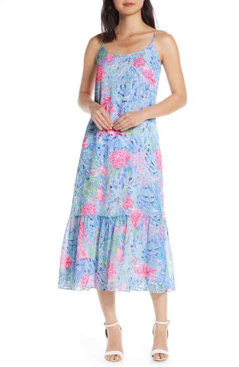 Lilly Pulitzer® Winni Strappy Midi Dress
