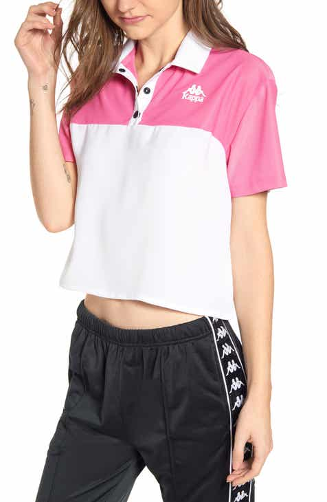 Kappa 222 Banda Baty Mesh Panel Polo by KAPPA ACTIVE