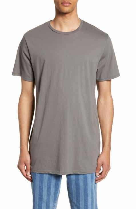 18d1a1613bb36 Topman Longline T-Shirt