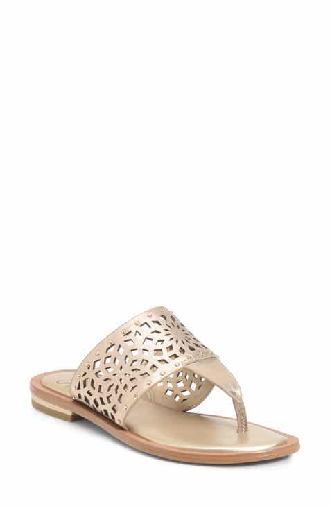 3359855c302c Metallic Flip-Flops   Sandals for Women
