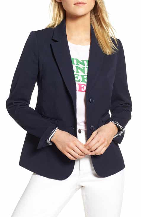 5af0646a08 1901 Stretch Cotton Twill Blazer (Regular & Petite)