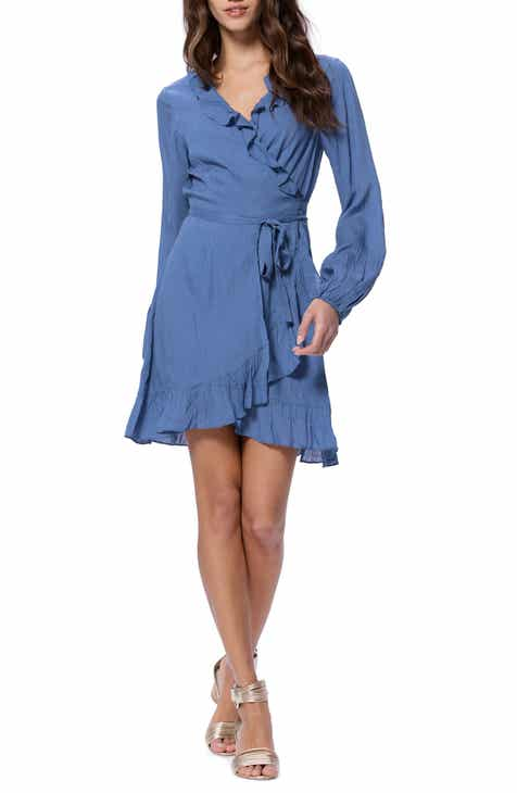 PAIGE Shawna Ruffle Wrap Dress by PAIGE