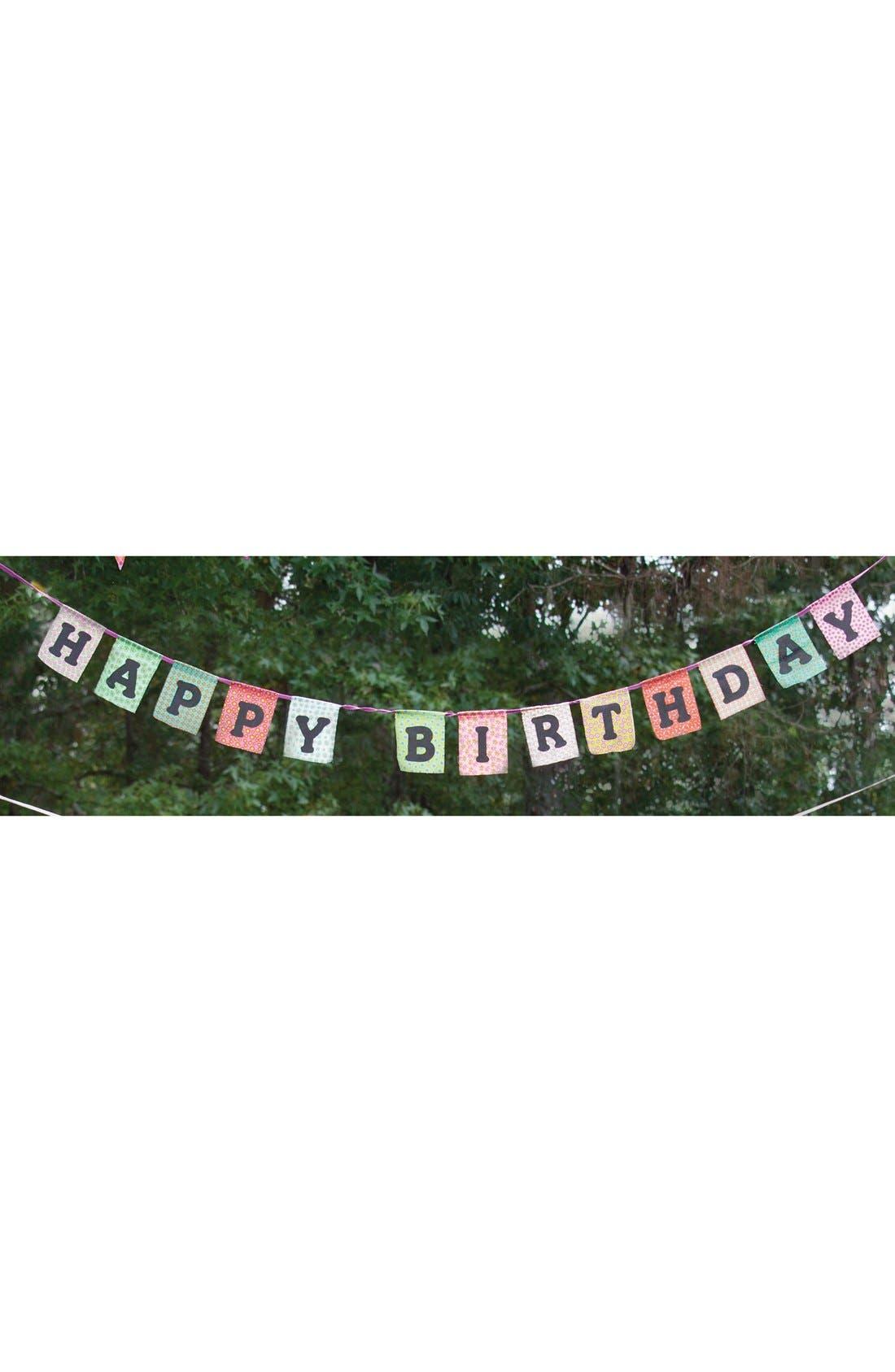 Alternate Image 2  - Natural Life 'Happy Birthday' Garland