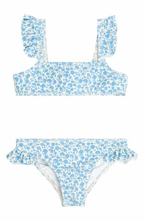 22402fe0931 minnow Italian Floral Two Piece Swimsuit (Baby   Toddler)