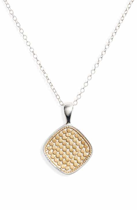 d2293d050 Anna Beck Reversible Cushion Pendant Necklace