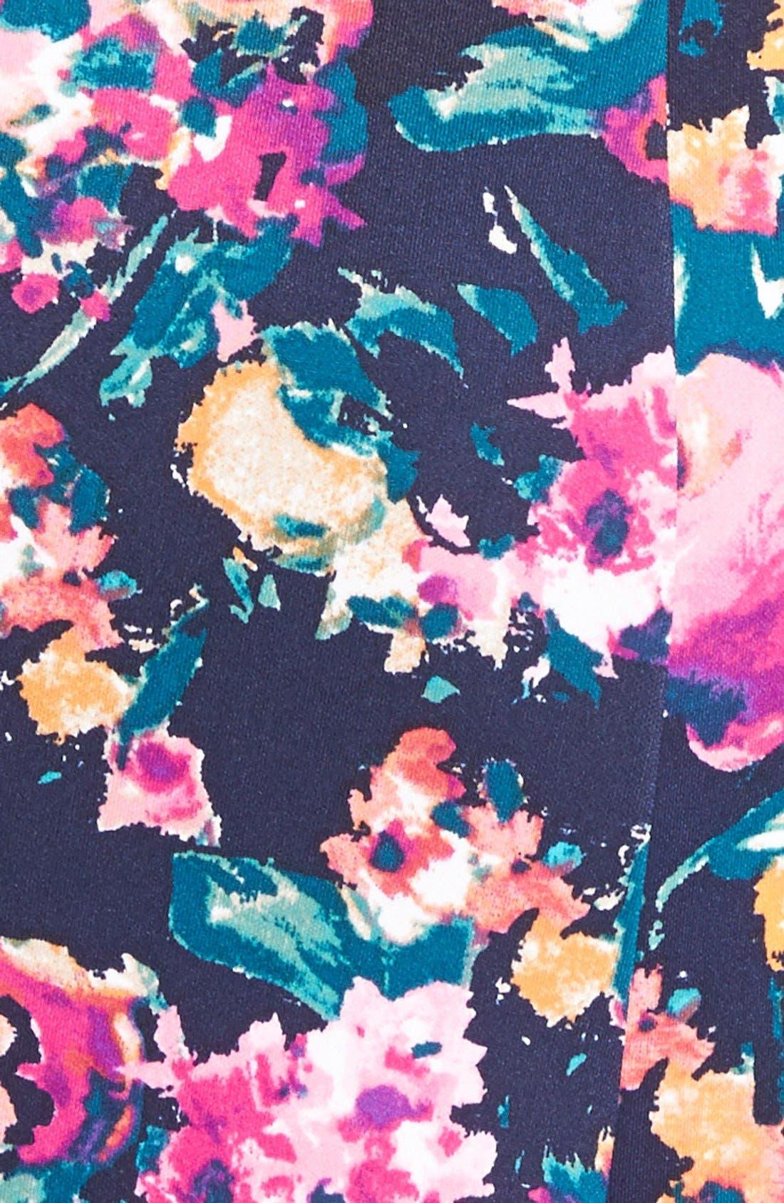 Alternate Image 3  - Leith Tropical Print Sleeveless Top