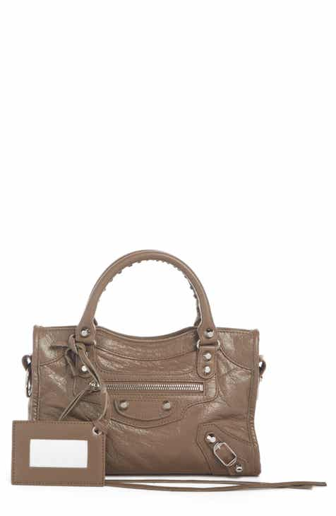 5c1b63e5fe Balenciaga Classic Mini City Leather Tote