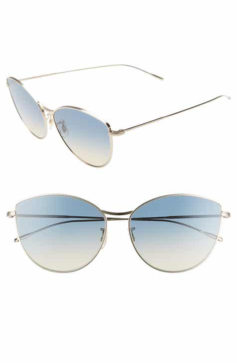3234f31a2a7 Oliver Peoples Rayette 60mm Cat Eye Sunglasses