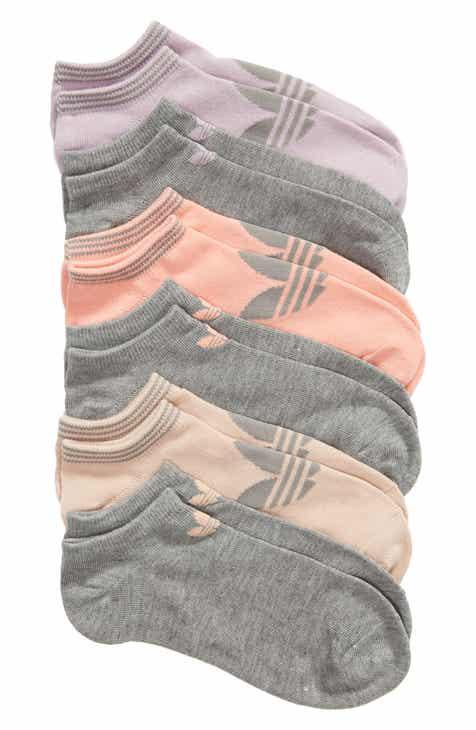 9145d6f83c64 adidas Originals 6-Pack Trefoil No-Show Socks