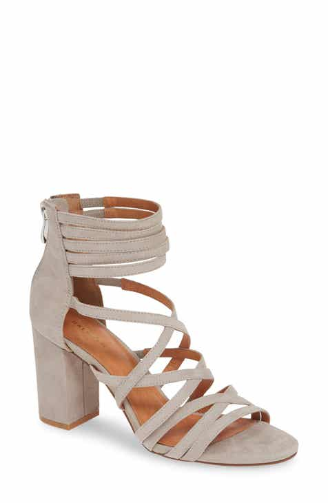 7a6593cd762 Halogen® Strappy Block Heel Sandal (Women)