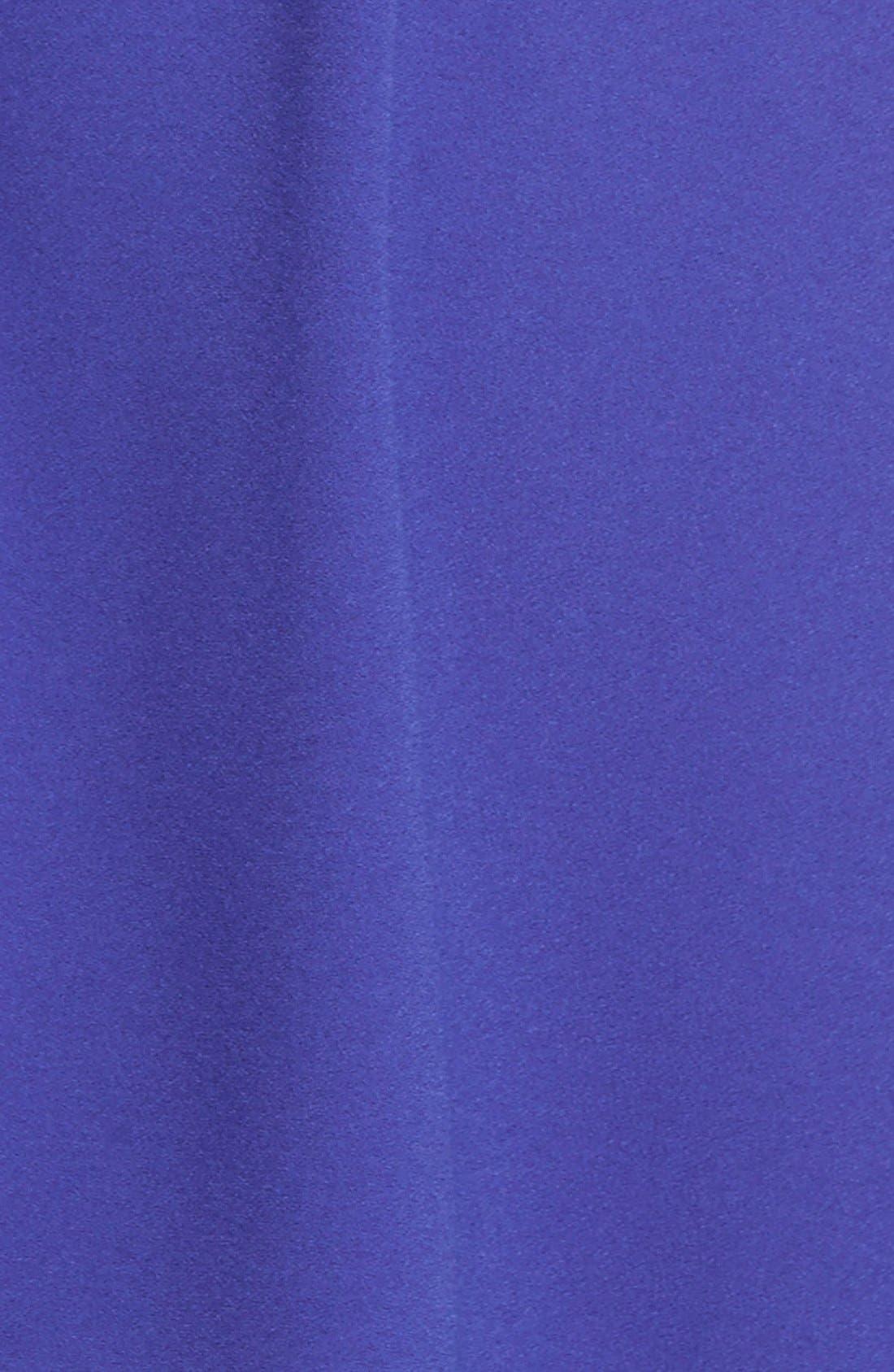 Wrap Front Dress,                             Alternate thumbnail 3, color,                             Blue Spectrum