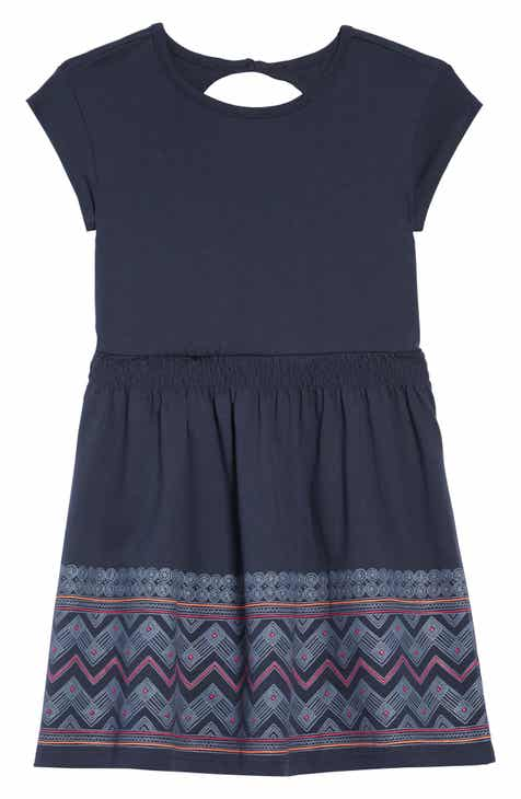 6c69f2bfa0 Tea Collection Chevron Graphic Keyhole Dress (Toddler Girls