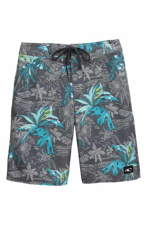 0985548861e1 O Neill Zigee Print Board Shorts (Big Boys)