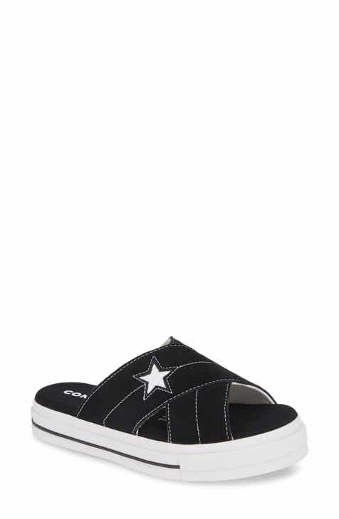 a55c77688364 Converse One Star Platform Slide Sandal (Women)