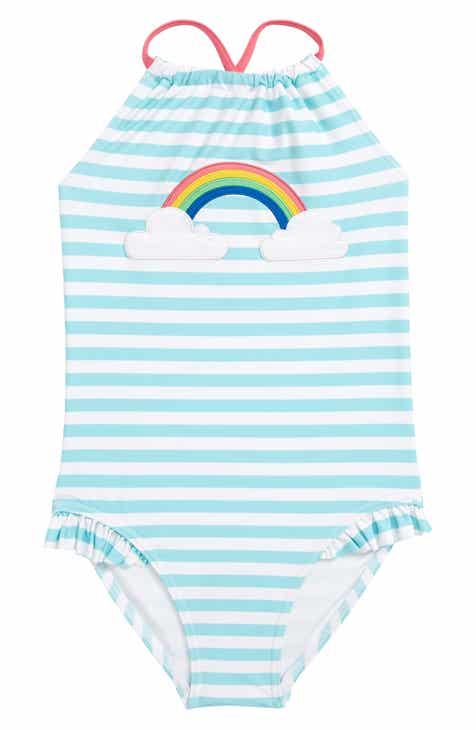 e52efa9800479 Tucker + Tate Appliqué One-Piece Swimsuit (Toddler Girls, Little Girls &  Big Girls)