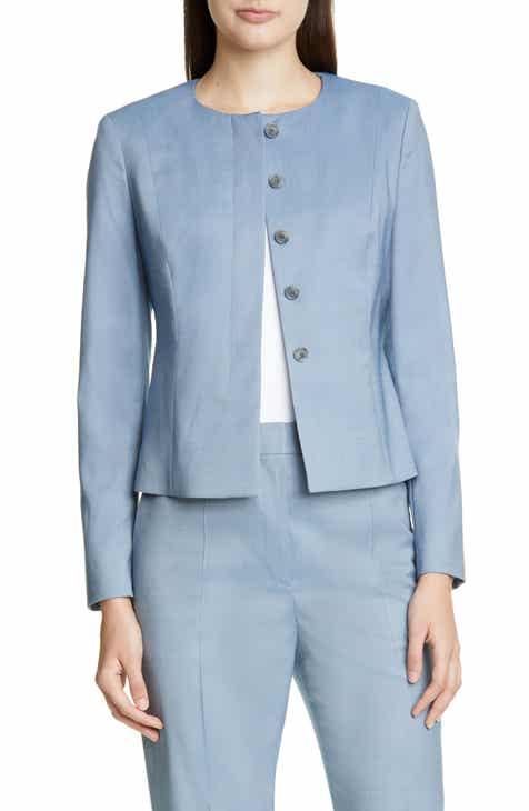 cb54493d3540 BOSS Javilla Melange Wool Suit Jacket