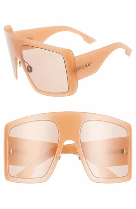 dcfb202d5ff Dior Solight1S 60mm Shield Sunglasses.  425.00. Product Image. CHAMPAGNE   GOLD  PEACH