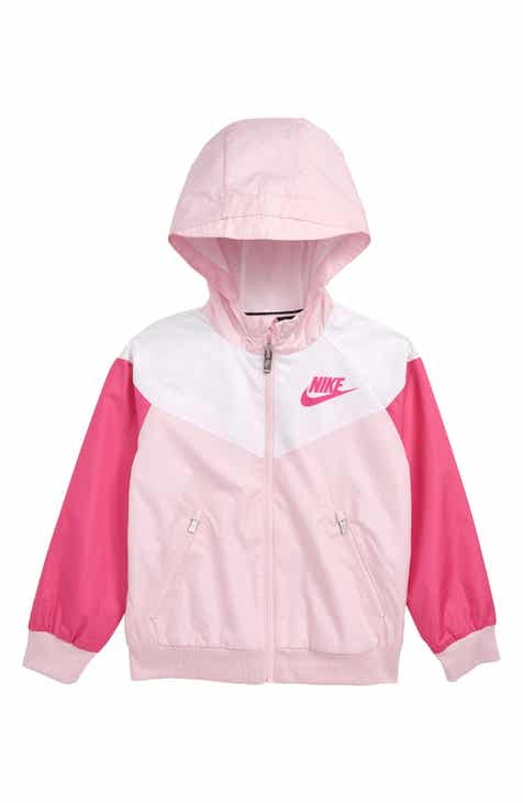 ab925d62afe8 Nike Windrunner Hooded Zip Jacket (Toddler Girls   Little Girls)