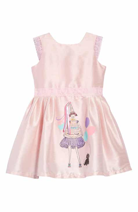 ebac4833d5c Fiveloaves Twofish Birthday Wishes Party Dress (Toddler Girls