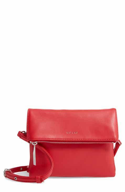 5ba8328b5c8 Matt   Nat Hiley Faux Leather Crossbody Bag