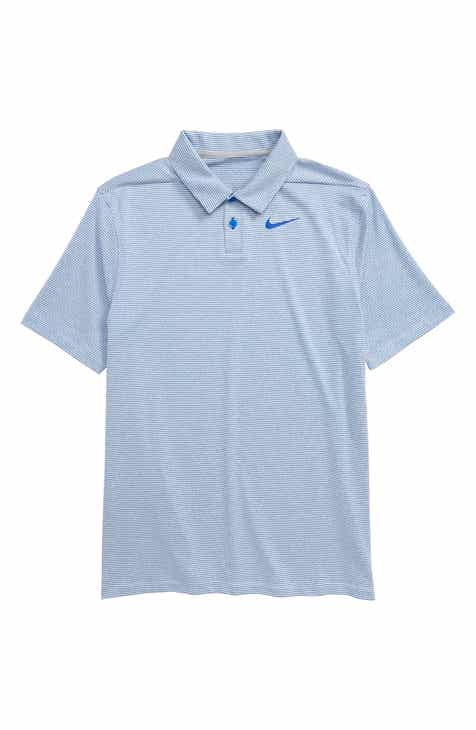 8bfa61dd5fe Nike Dri-FIT Stripe Golf Polo (Big Boys)