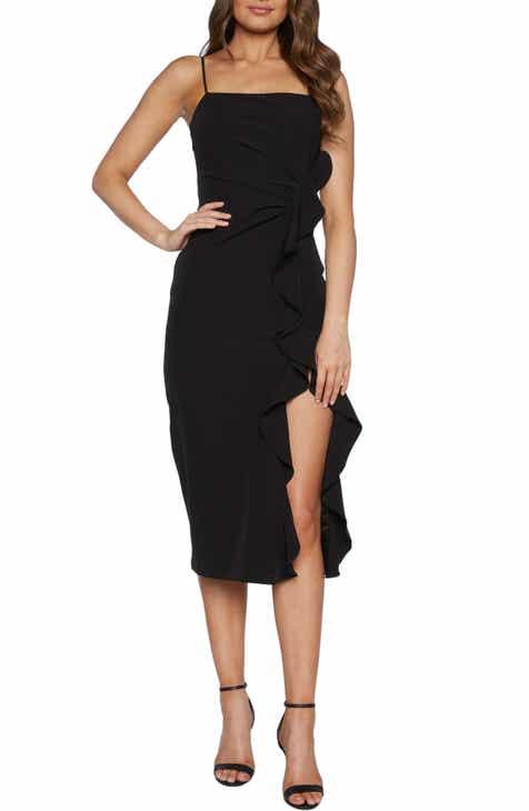 Bardot Rona Sleeveless Midi Dress