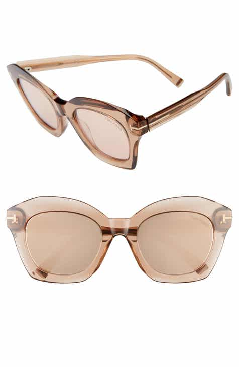 500a5ffbe3003 Tom Ford Bardot 53mm Square Sunglasses