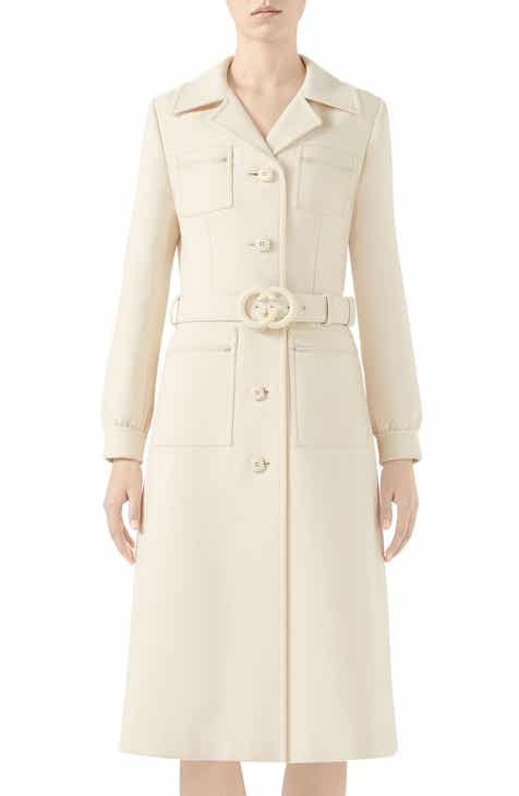 b607ad00 Women's Gucci Wool & Wool-Blend Coats | Nordstrom