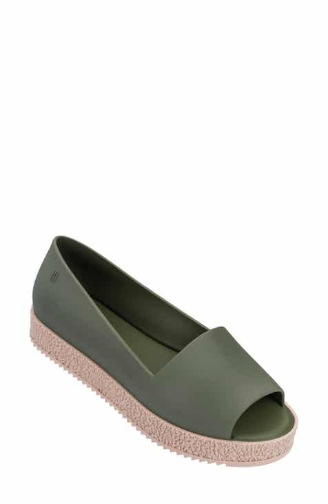 5d059074a093 Melissa Puzzle Open Toe Slip-On Wedge (Women)