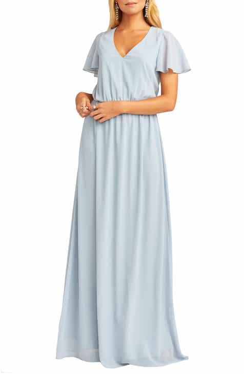 31ddb684c838 Chiffon Bridesmaid Dresses | Nordstrom