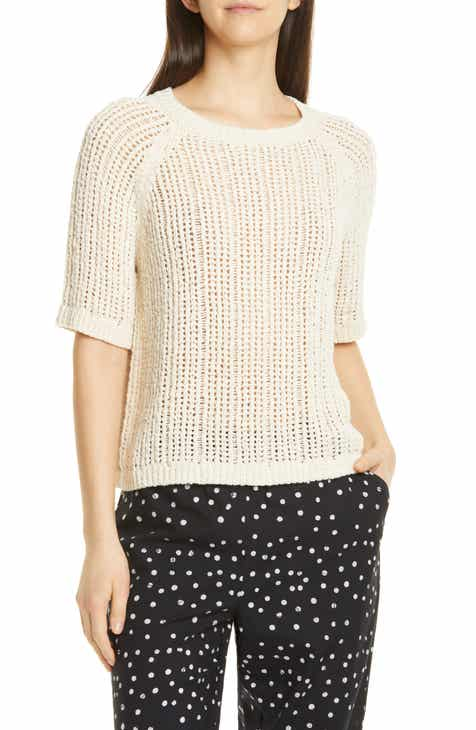 Rebecca Minkoff Ebony Love Stripe Graphic Sweatshirt by REBECCA MINKOFF