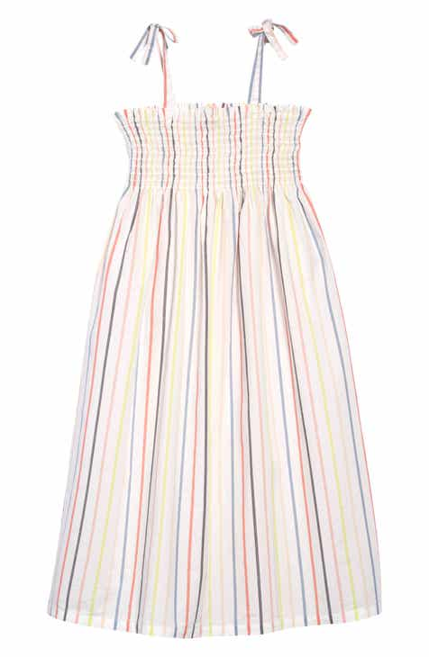 de52d94ca00 Tea Collection Tie Shoulder Midi Dress (Toddler Girls