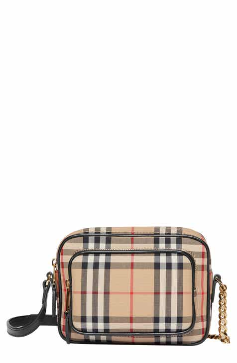 9988a0432779 Burberry Vintage Check Crossbody Camera Bag