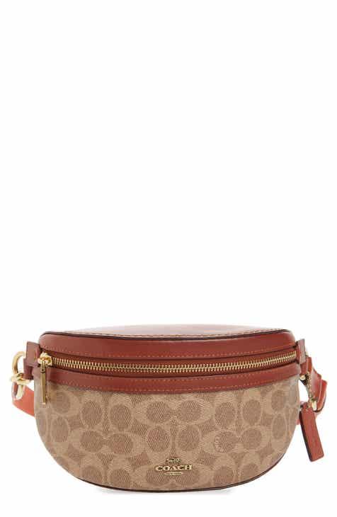 60cc3dcacfe0 COACH Signature Canvas Belt Bag