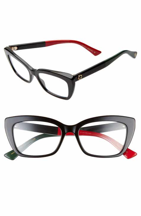 d29770cf1ffbf Gucci 51mm Cat Eye Optical Glasses