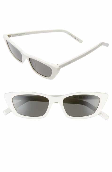 1832e46862 Saint Laurent Jerry 58mm Angular Sunglasses.  450.00. Product Image
