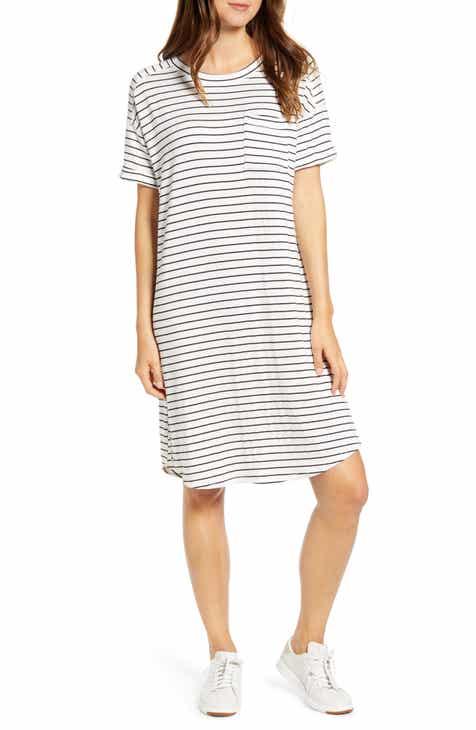 4ea973d0 Caslon® Short Sleeve Sweatshirt Dress
