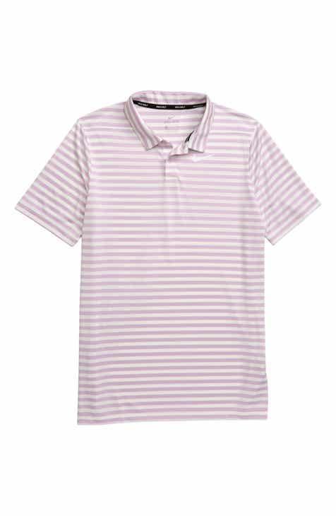 388262084 Nike Dri-FIT Victory Stripe Polo (Little Boys & Big Boys)