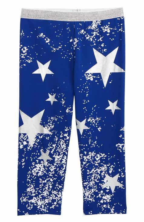 9b8002e5596f2 Truly Me Star Print Capri Leggings (Toddler Girls & Little Girls)