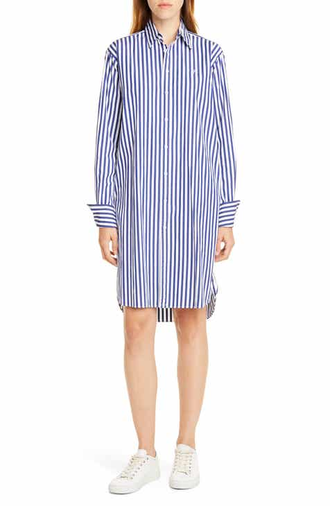 b233e37cc3b Polo Ralph Lauren Stripe Long Sleeve Shirtdress