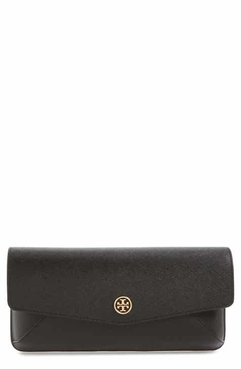 2ca2c07e20a4 Tory Burch Robinson Leather Clutch