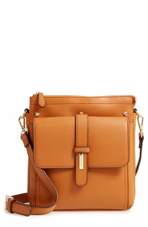 6889ec4482d10 Sondra Roberts Faux Leather Crossbody Bag
