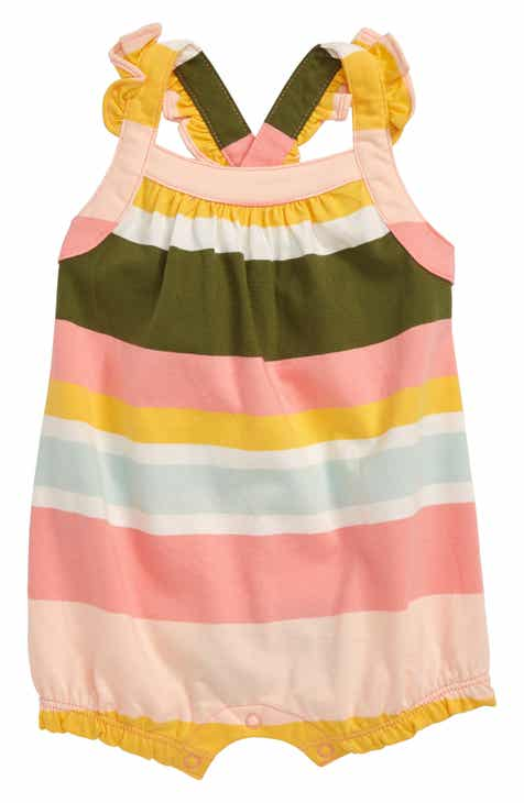 965f23486 Tea Collection Stripe Romper (Baby)