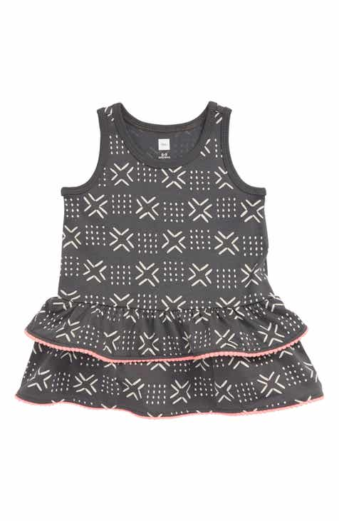 3e4ae5782 Tea Collection Pompom Ruffle Tank Dress (Baby)