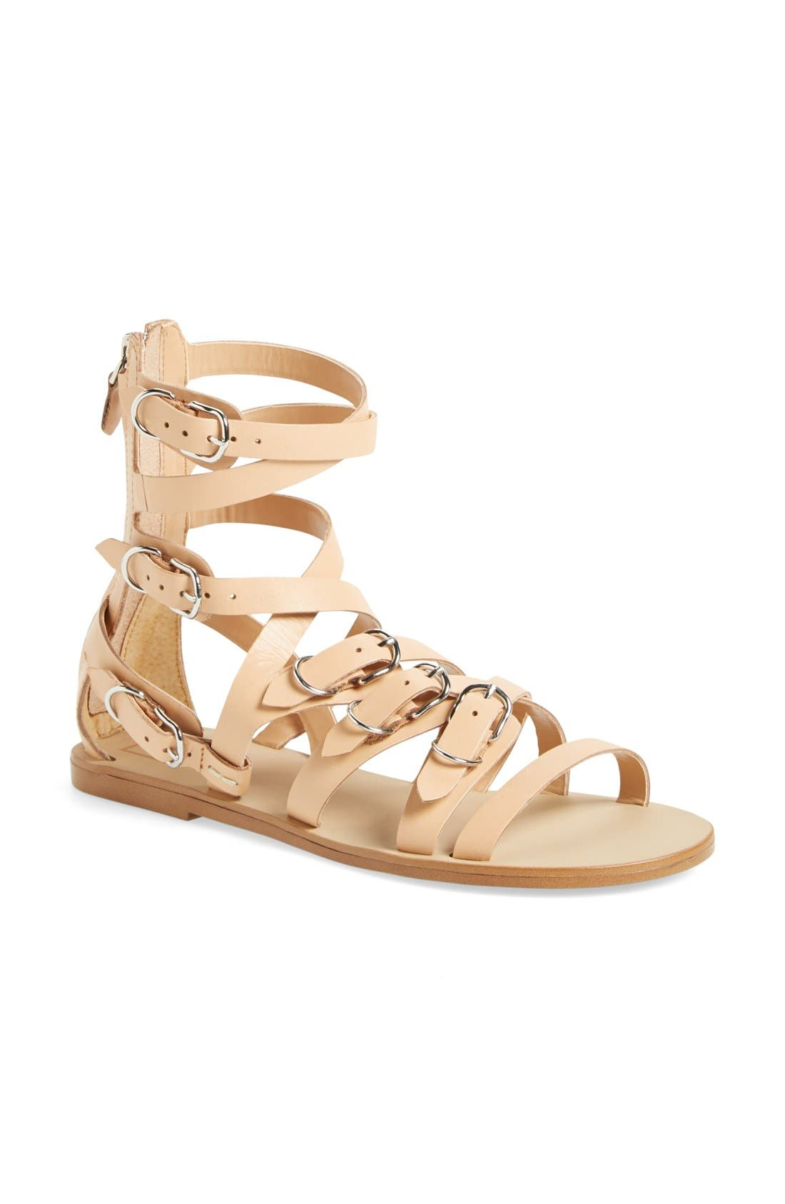 Alternate Image 1 Selected - DV by Dolce Vita 'Okena' Leather Gladiator Sandal (Women)